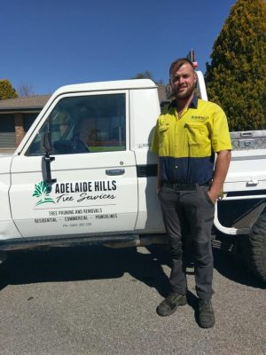 Joe from Adelaide Hills Tree Services